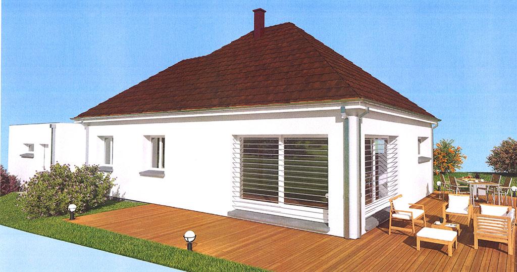 modèle de maison personnalisé à la demande du client